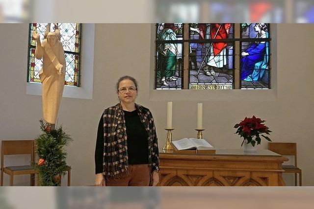 Krippenspiel als Film in der Kirche