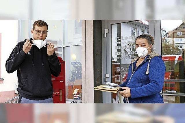 Jugend hilft den Senioren der Stadt
