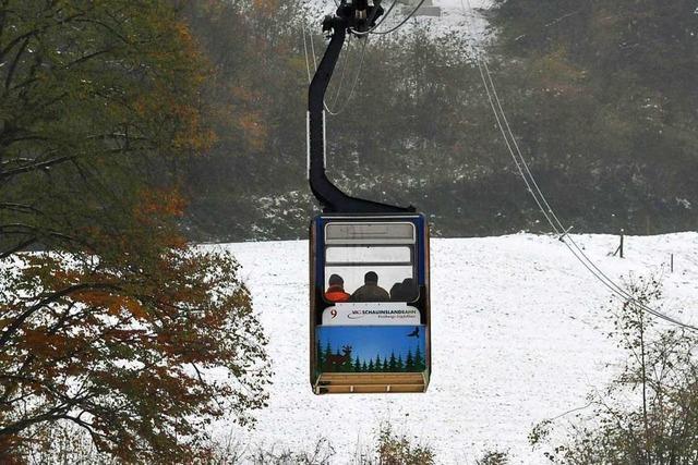 Schauinslandbahn fährt jetzt doch nicht mehr – bis zum 10. Januar