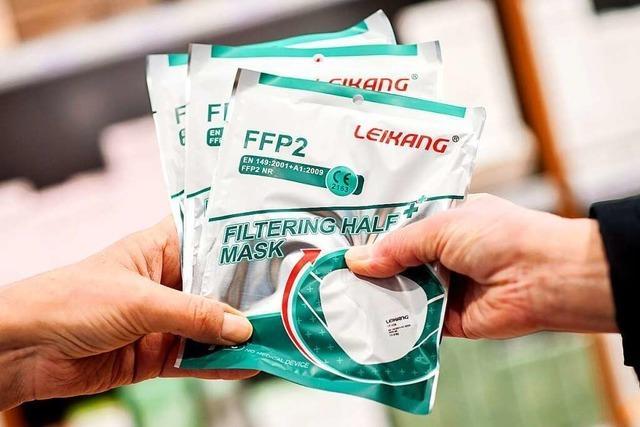 Die Abgabe der FFP2-Masken ist auch Vertrauenssache