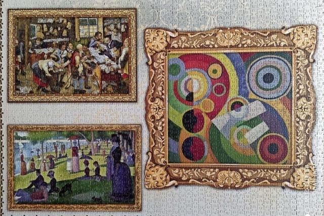 Ettenheimer Katholiken arbeiten an Riesenpuzzle
