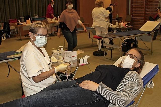 Blutspenden geht auch in Zeiten der Pandemie