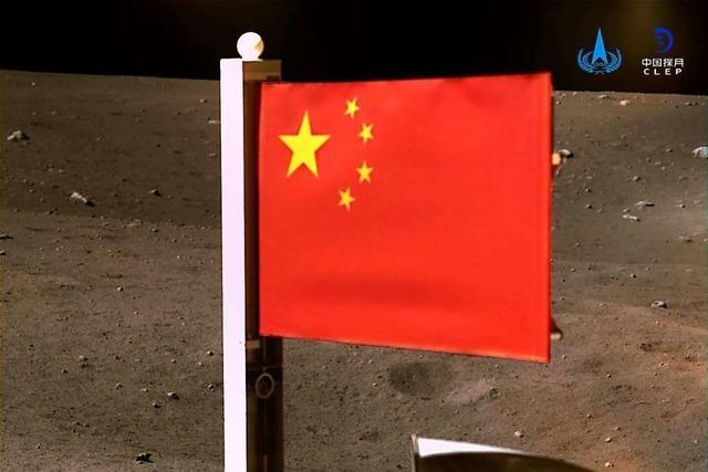 China holt sich Mondgestein – und greift nach den Sternen