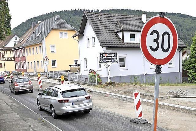 Stadt Lahr will ein Lkw-Nachtfahrverbot in Reichenbach und Kuhbach