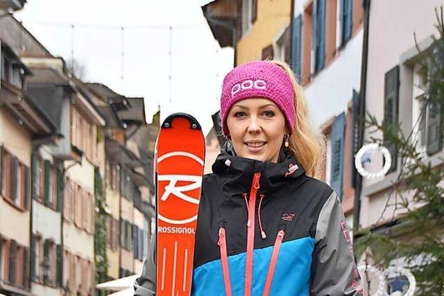 Eine Rheinfelder Skifahrerin spricht über das Warten auf den Schnee