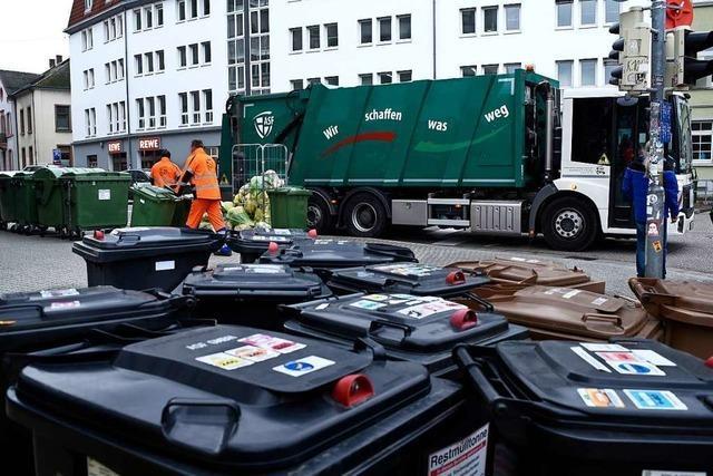 Termine der Müllabfuhr und Recyclinghöfe an den Feiertagen verschoben