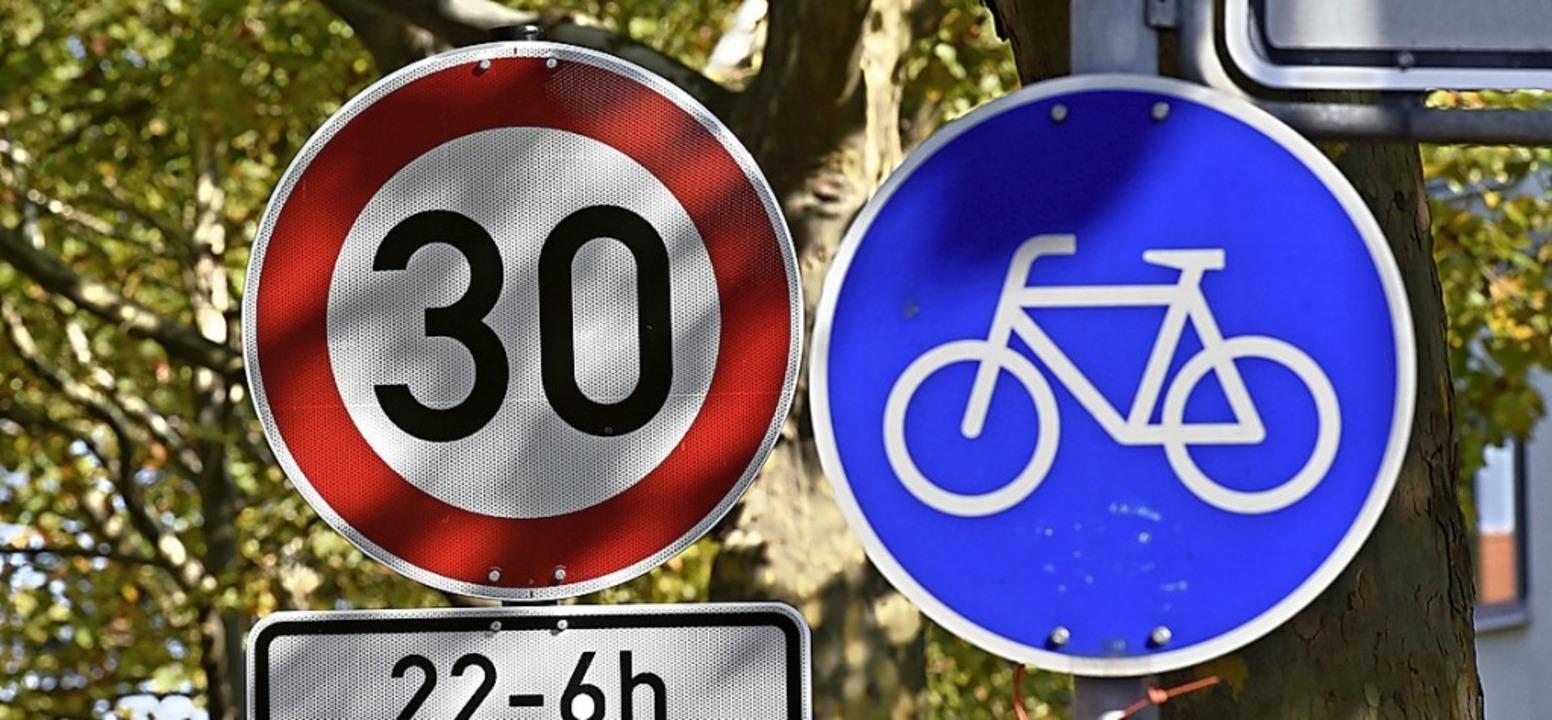 Auch in Hartheim soll bald Tempo 30 gelten.    Foto: Thomas Kunz