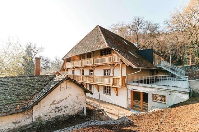 Der Meierhof in der Kartaus erstrahlt in neuem Glanz