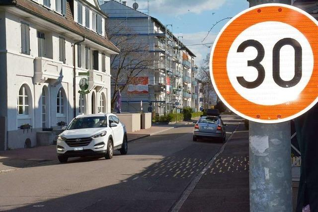 Verwaltung kann damit beginnen, Tempo-30-Schilder aufzuhängen