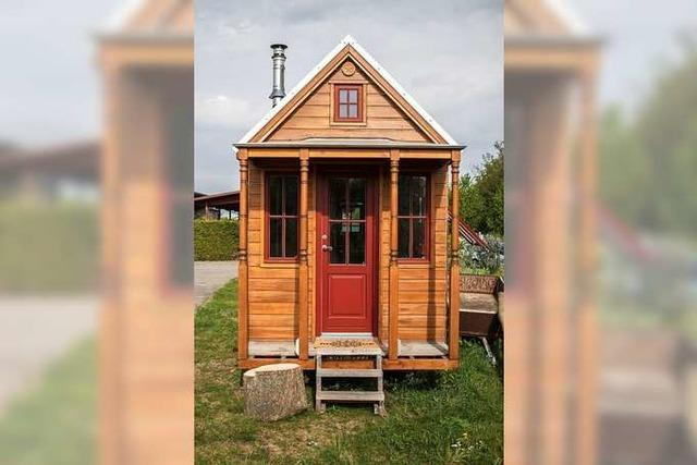 Viele Hürden für Tiny Häuser