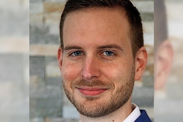 Dominik Brox kandidiert für Freie Wähler