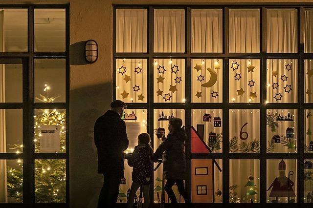 Merdinger Adventsfenster