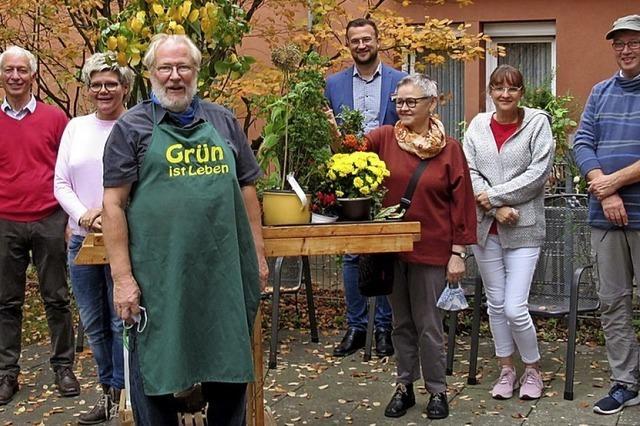 Wie Pflanzen im Pflegeheim Senioren beflügeln können