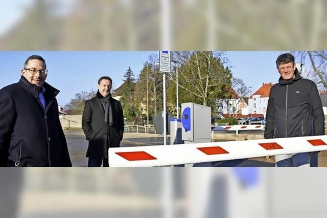 Neuer Parkplatz am Offenburger Bahnhof