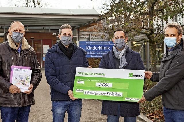 Spende für Kinderklinik-Initiative