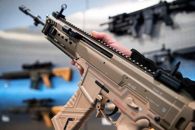 Punktsieg für Waffenhersteller Heckler & Koch