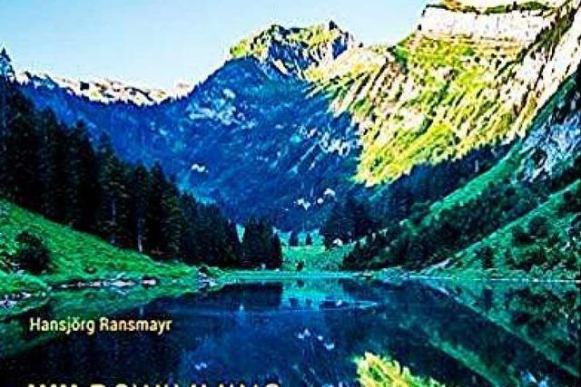 Wild schwimmen in den Alpen