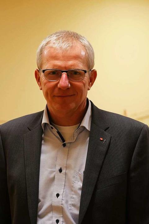 Jochen Kandziorra, Vorstandsvorsitzender  des Caritasverbandes    Foto: Jannik Jürgens