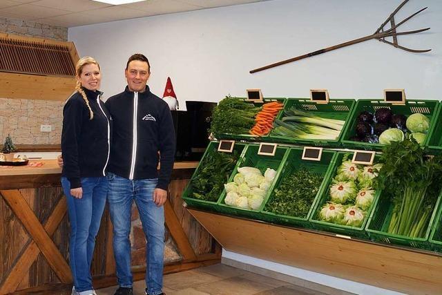 In Schallbach hat ein neuer Hofladen eröffnet