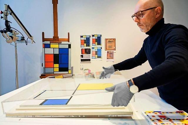 Die Fondation Beyeler in Riehen erforscht Kunstwerke von Mondrian