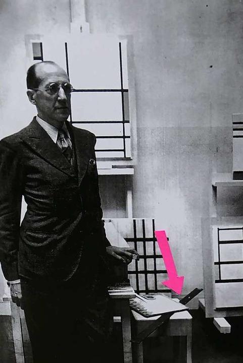 Das Foto legt nahe, dass Mondrian sein...zogen hat. Belegt aber ist das nicht .  | Foto: Michael Baas