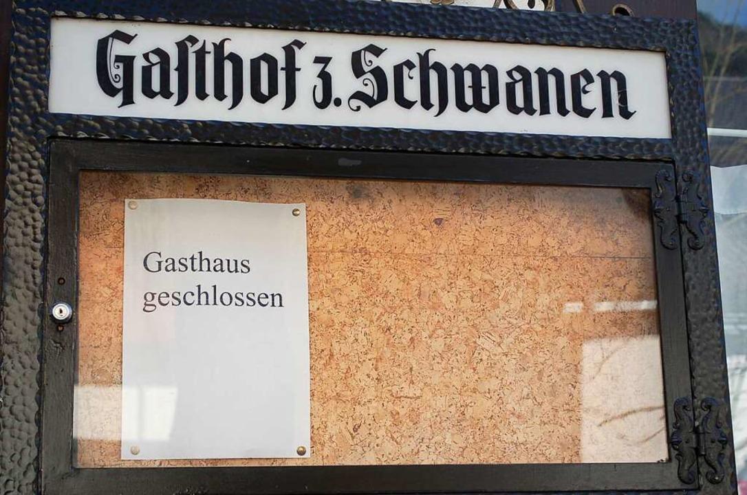 Zeichen der Krise im Kurort  | Foto: Rüskamp