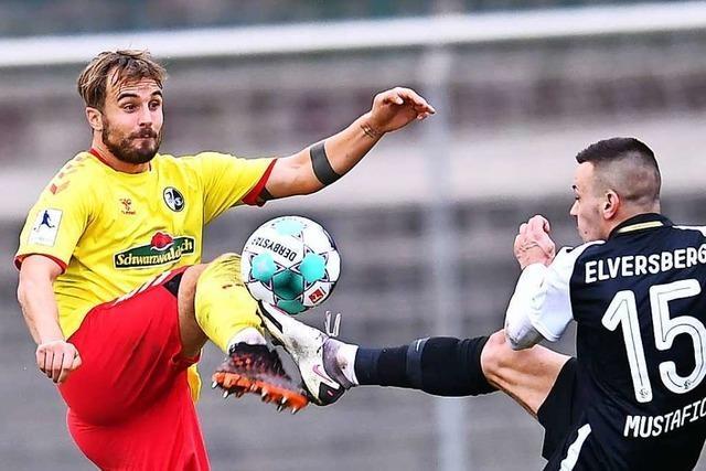 Die U 23 geht als Tabellenführer der Regionalliga ins Jahr 2021