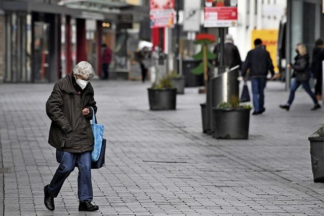 Geschlossene Geschäfte – leere Innenstadt