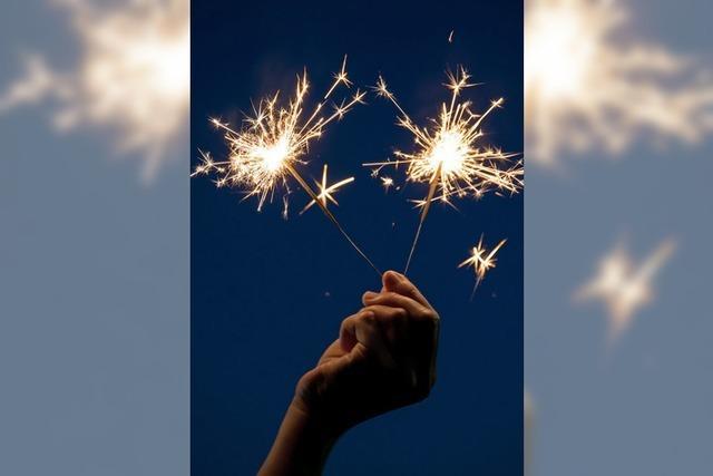 Freiheit für Wunderkerzen