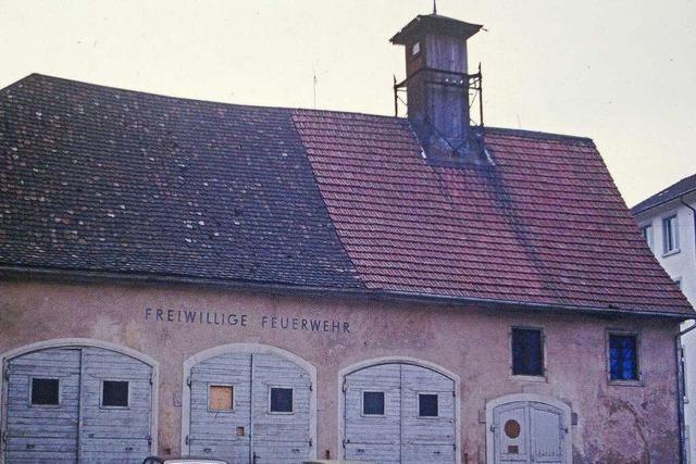 Wo einst das Feuerwehrhaus stand