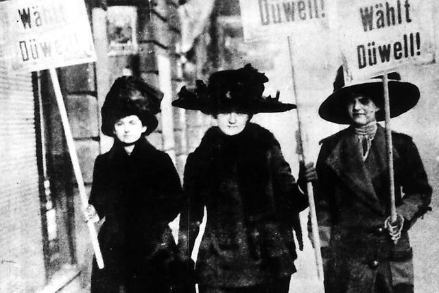 Der 5. Januar 1919 – als Schopfheims Frauen wählen gingen
