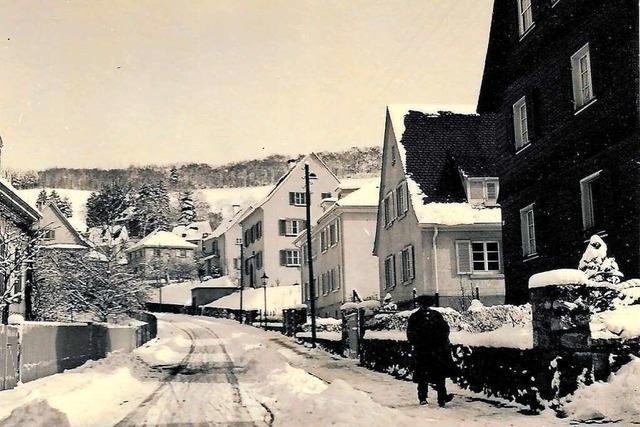 Zur Kriegsweihnacht 1940 lag Schnee in Freiburg-Herdern