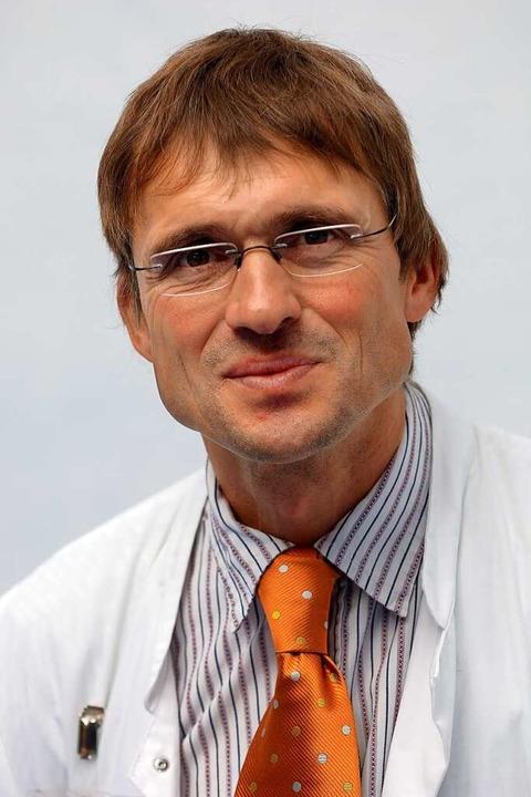 Wolfgang Birkner heute: Der Rheinfelde...t als Arzt hauptsächlich in Stuttgart.    Foto: Privat