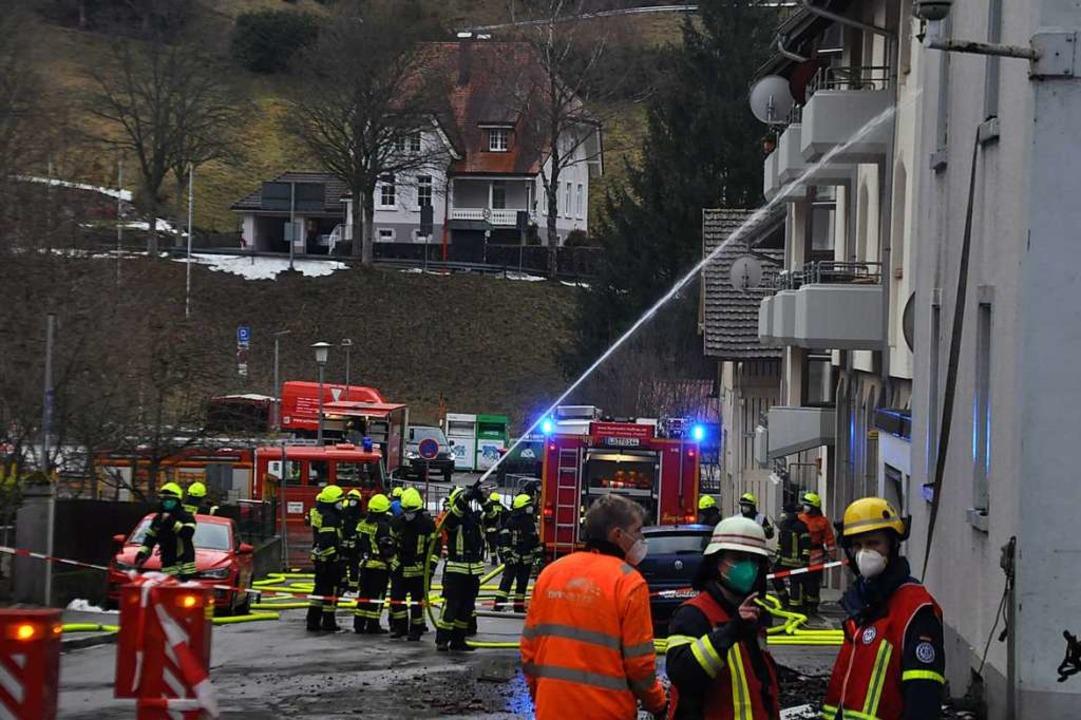 Großeinsatz für die Feuerwehr in Todtnau    Foto: Nicolai Kapitz
