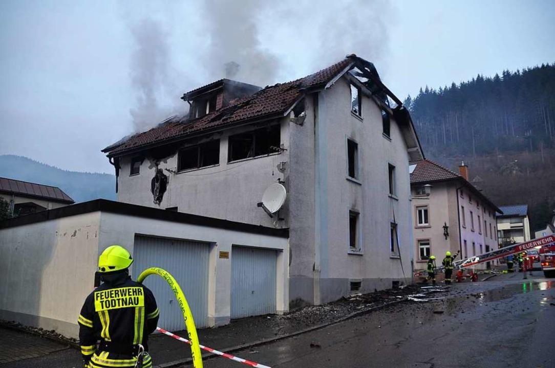 Das Haus ist nicht mehr zu retten.    Foto: Nicolai Kapitz