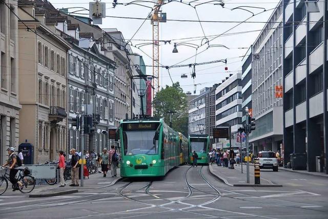 Die Basler Innenstadt soll fußgängerfreundlicher werden