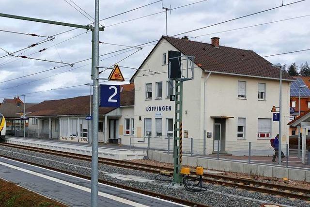 Im Löffinger Bahnhof soll Platz für Start-ups entstehen