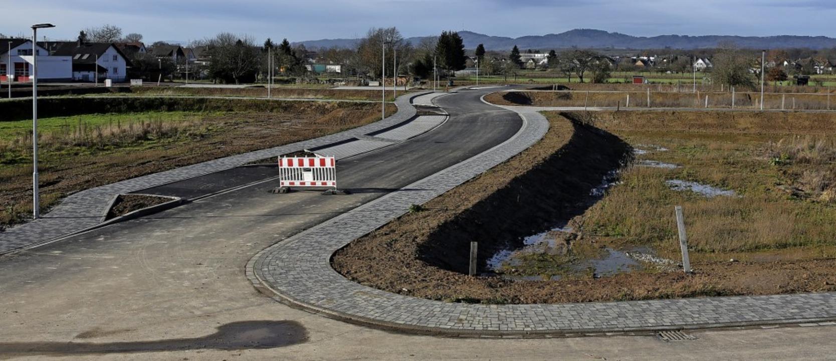 Die Straßen und Wege in der neuen Orts...len des Gemeinderates online erfolgen.    Foto: Benedikt Sommer