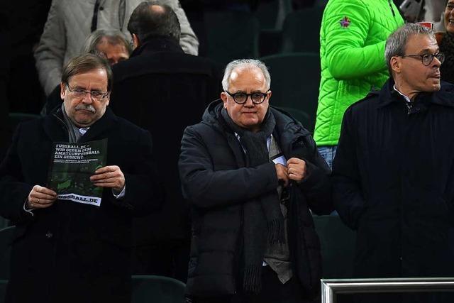 Keine Spur von Weihnachtsfrieden beim Deutschen Fußball-Bund
