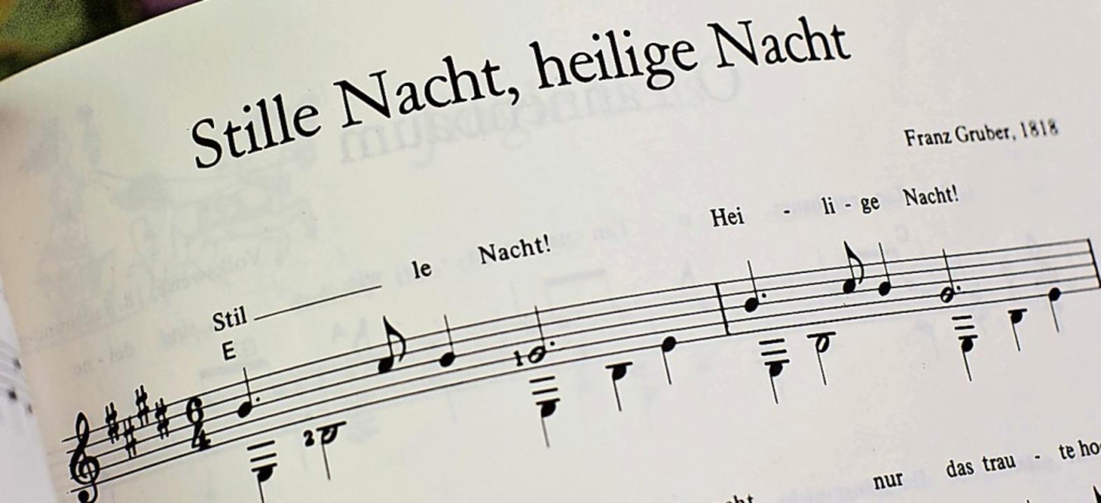 """Auch """"Stille Nacht"""" wird d... Jahr in den Gottesdiensten erklingen.    Foto: Michael Kappeler"""