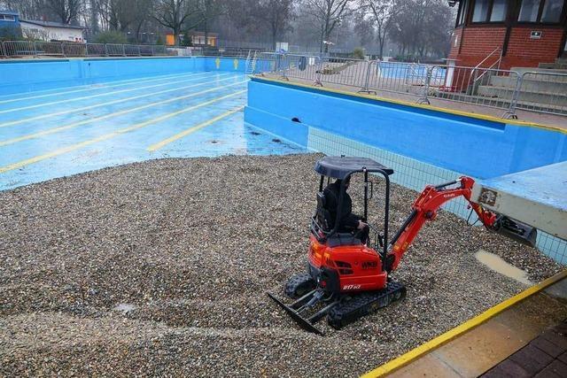 Sanierung des Breisacher Waldschwimmbads wird teurer