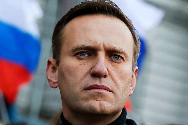 Nawalny nach Giftanschlag: Mutmaßlicher Täter gesteht am Telefon