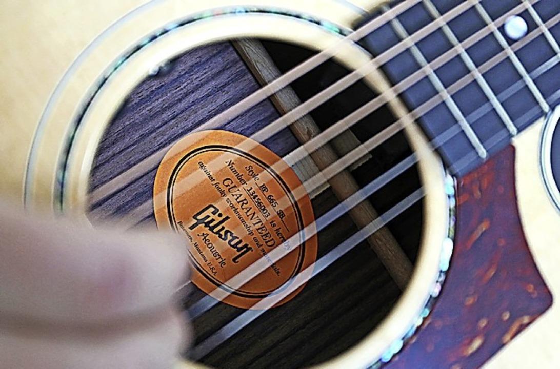 Die Musikschule bietet Gitarrenkurse.    Foto: Oliver Berg