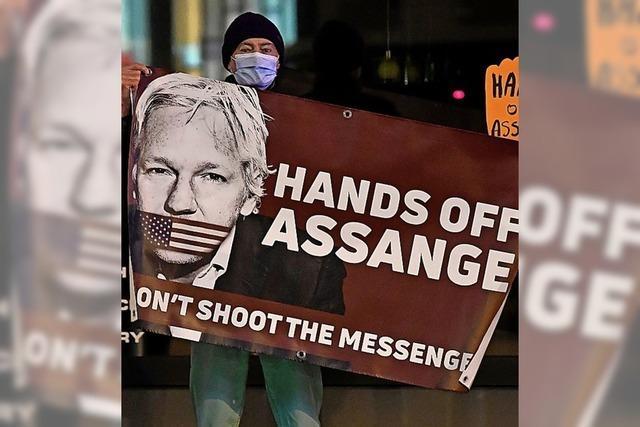 Abgeordnete für Freilassung von Julian Assange