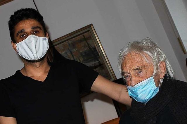 Kirchzartener Witwer nimmt Flüchtling in seinem Haus auf