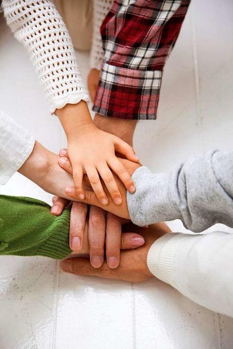 Auch in  einer Pflegefamilie entsteht ein Zusammengehörigkeitsgefühl.  | Foto: Fotolia