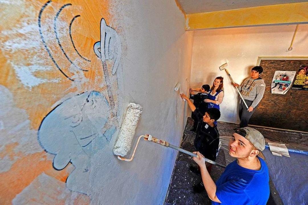 Der Friesenheimer Jugendclub wird gestrichen.  | Foto: Bettina Schaller