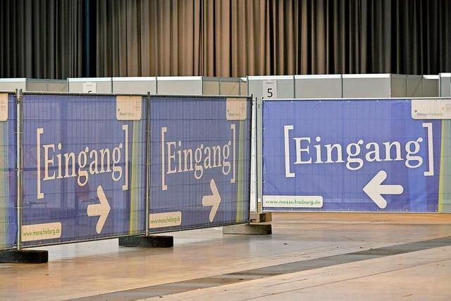 Fragen und Antworten zum Freiburger Impfzentrum, das am Sonntag in Betrieb geht