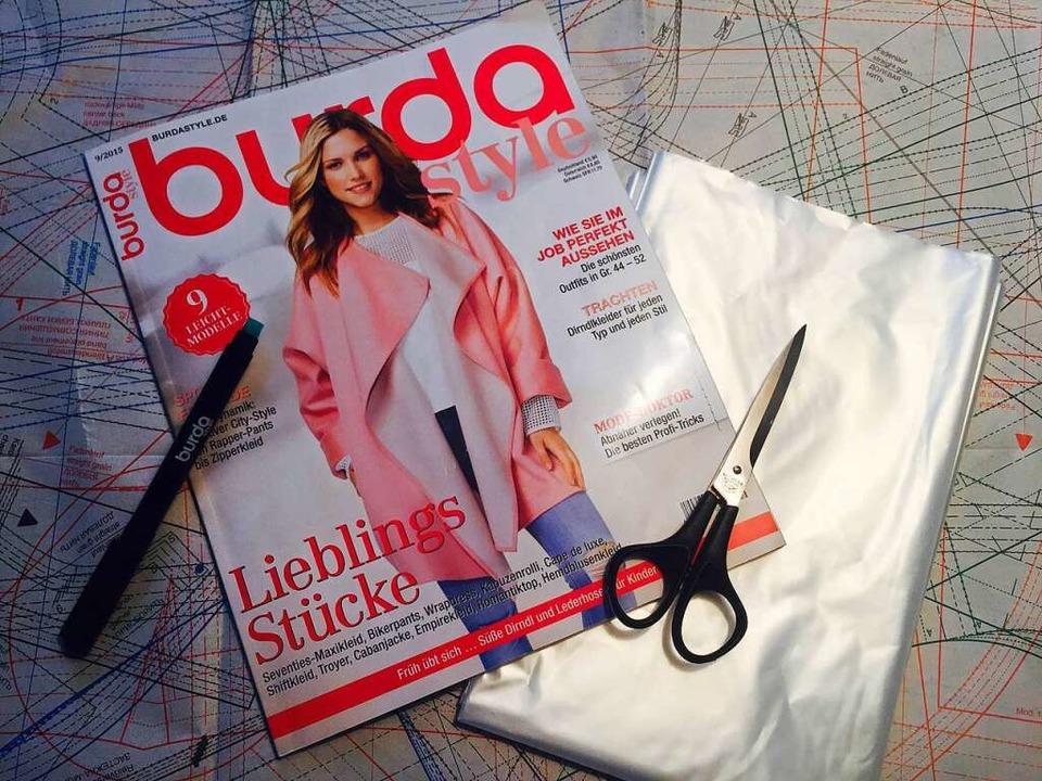 Der Schnitt stammt aus dem Burda-Style-Heft .  | Foto: Gina Kutkat