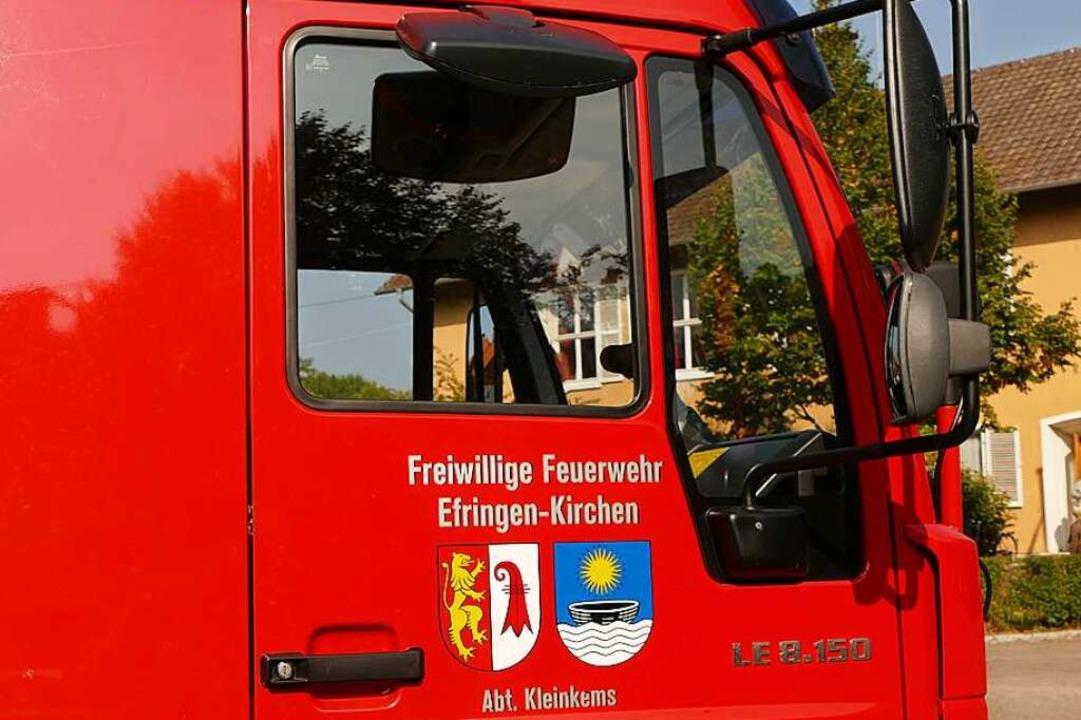 Start zum Weihnachtskonvoi der Feuerwehr wird am Mittwoch in Kleinkems sein.  | Foto: Victoria Langelott